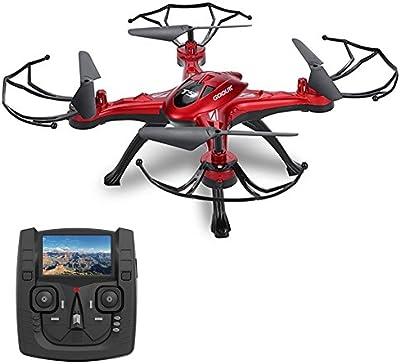 GoolRC T5G Drone con Cámara 2.0MP HD 5.8G Wifi FPV RC Quadcopter 2.4GHz 4CH 6 Ejes Girocompás con Funciones de Retorno Una-tecla Modo CF 360 ° Eversión