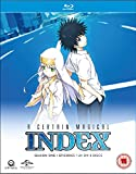 A Certain Magical Index Complete Season 1 Collection (Episodes 1-24) Blu-ray
