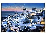 kunst-discounter Griechenland Santorin Leinwandbilder auf