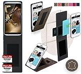 Hülle für Lenovo Vibe X3 c78 Tasche Cover Case Bumper | Braun Wildleder | Testsieger