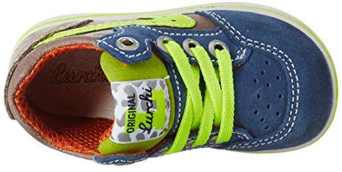 Lurchi Jorgo, Chaussures Marche Bébé Garçon Bleu jean