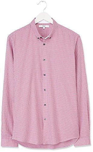 FIND Chemise Oliver Gingham Homme Rose (Hot Pink)