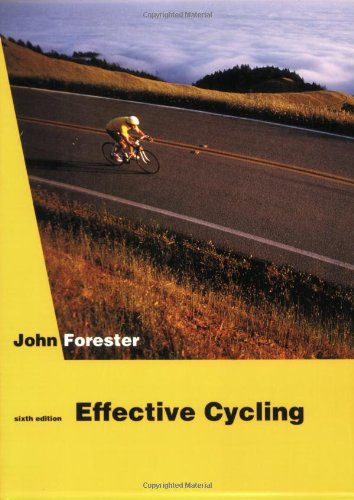 Effective Cycling: Maurice Blanchot: The Thought from Outside and Michel Foucault as I Imagine Him (The MIT Press) por John Forester