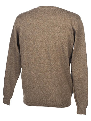 Teddy smith - Pulser taupe chine pull - Pull fin Marron