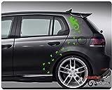 Gecko Aufkleber - Autoaufkleber Eidechse - Lizard Sticker
