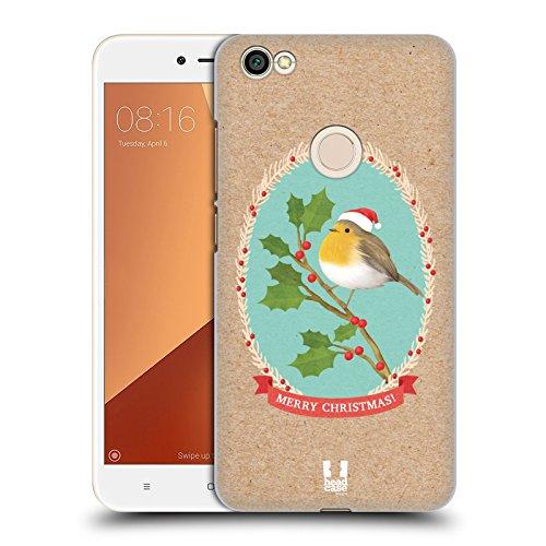 Head Case Designs Rotkelchen Weihnachtsklassiker 2 Ruckseite Hülle für Xiaomi Redmi Y1 / Y1 Lite