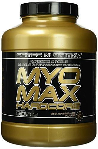 Scitec Nutritiongainer Myomax HardCore, Schokolade, 3080g -