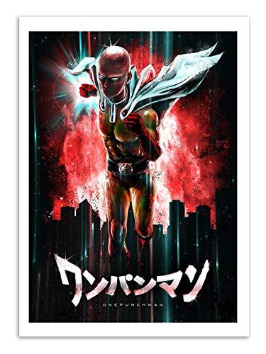 Art-Poster - One punch Man - Barrett Biggers - 50 x 70 cm