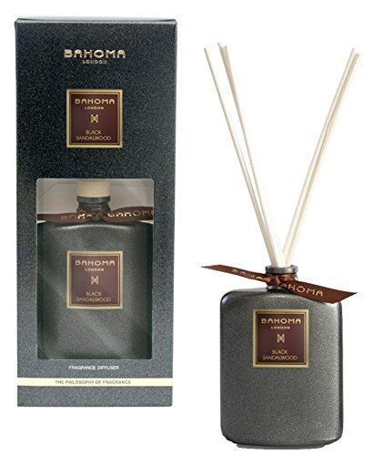 bahoma-fragrance-diffuser-100-ml-black-sandalwood-nero-collection-handmade-in-london-made-in-uk