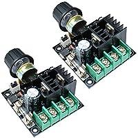 regulador de tensión regulador regulador de voltaje ajustable de PWM Motor AC regulador dimmer regulador Termostato módulo electrónico tarjeta 220V 2000W (2Pcs)