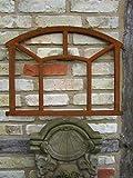 Antikas - Eisenfenster ländlich, Stallfenster wie antik Fenster f Mauer-Ruine, Mense 58x48