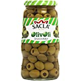 Saclà - Olive Verdi, Snocciolate in Salamoia - 560 g