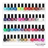 Set di 48 Smalti Per Unghie 48 Colori Diversi Perfetto Mix di Colori 7ml