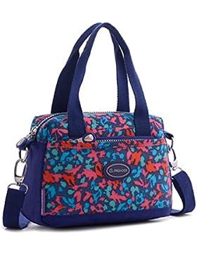 Tiny Chou leicht wasserdicht Nylon top-handle Crossbody Handtasche Sport Schultertasche für Mädchen