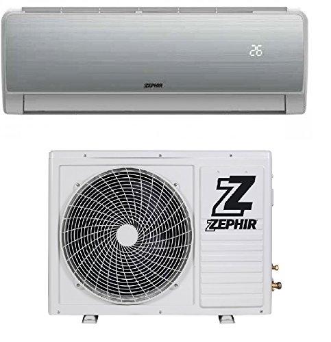 Climatizzatore 9000 Btu Inverter Monosplit Pompa di Calore A+/A++ Silver ZGA9000 Galaxy