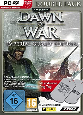 Warhammer 40,000: Dawn of War - Double Pack - Imperial Guard Edition [import allemand]