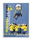 MIN Minions Collegeblock A4