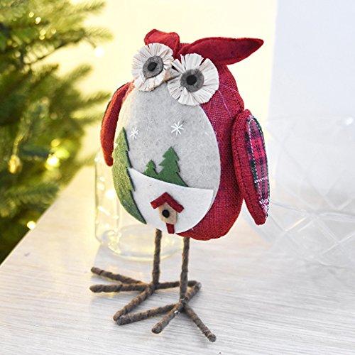 e Spielzeug Figuren Desktop Ornamente Kleine Ornamente Weihnachtsschmuck ( Color : Red ) (Bulk-ornamente)