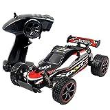 2WD Zweiradantrieb 1:20 Skala Funkfernbedienung Off-Road-Fahrzeug RC 2.4GHZ 25 KM / H Hoche Geschwindigkeit Classic-Spielzeug Wagen (Rot)