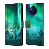 Head Case Designs Green Forest Grove Northern Lights
