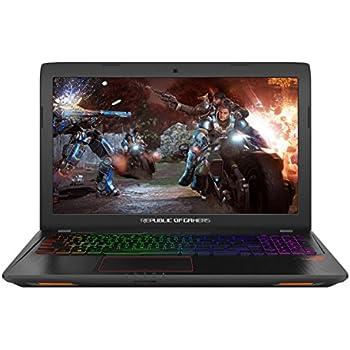 ASUS ROG Strix GL553VE-DM292T 15 6-Inch Gaming Laptop - (Black) (Intel  i7-7700HQ Processor, 8GB RAM, 1TB HDD + 128GB SSD, Full RGB Keyboard,  Nvidia