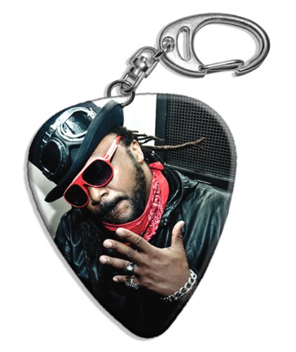 Skindred (JC) Big Grande Live Performance Chitarra Plettro Keyring Portachiavi