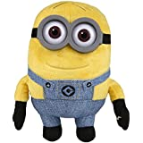 Simba Minions Plush Toy - Dave With Sound,  Multi Color