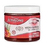 Activilong Natural Touch Gel Gloss Idratante Effetto Bagnato, con Ibisco e Aloe Vera Bio, 200 ml