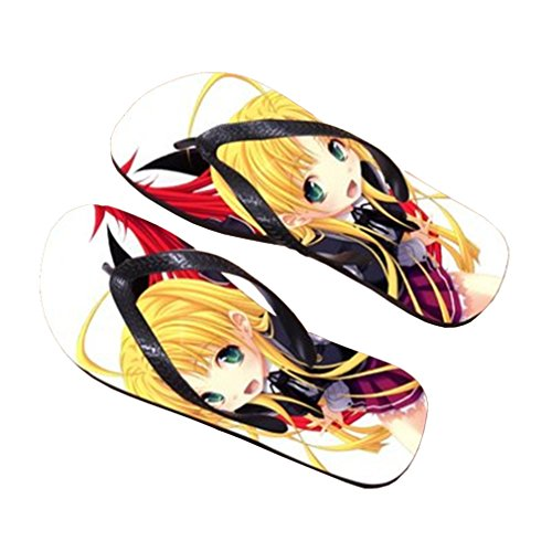 Bromeo High School DxD Anime Unisexe Flip Flops Tongs 344