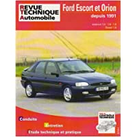 Revue Technique 717.3 Ford Escort et Orion (91/96)/d-Td (91/95)