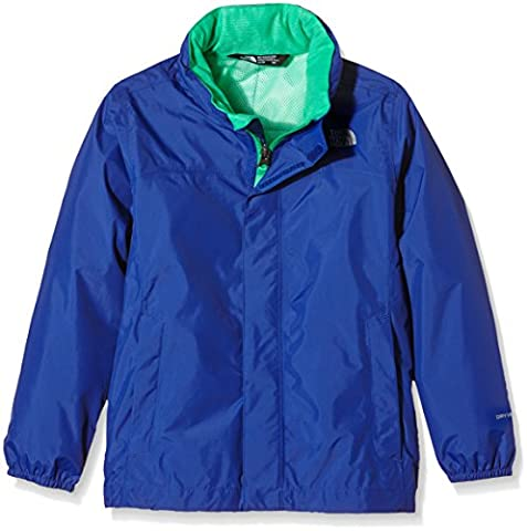 The North Face Jungen Jacke B Resolve Reflective Jacket, Marker Blue, M, 0732075457372