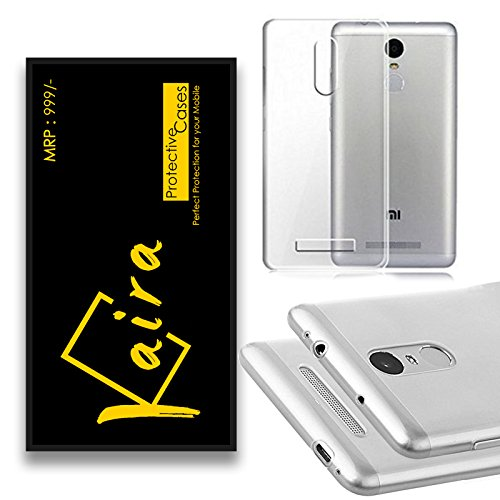 Kaira Silicon Transparent TPU cover for Xiaomi Redmi Note 3