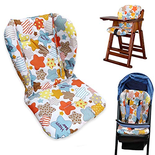 Twoworld High Chair Cushion Animal World Large thickening Baby Stroller//Car//High Chair Seat Cushion Liner Mat Pad Cover Protector Breathable