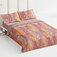 Burrito Blanco - Juego de funda nórdica 336 Teja, para cama de 180 x 190/200 cm.