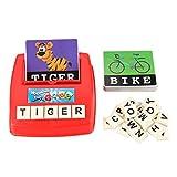 Spelling Toy,Alphabet Letter Match Et Word Spell Jeux De Société Pour Enfants Toddle Preschoolers Learning Grand Ensemble De Jeux Éducatifs...