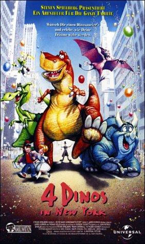 Vier Dinos in New York [VHS]