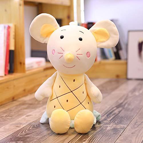 Moonyue Puppe Puppe süße kleine Maus große 75cm Puppe Plüschtier Mädchen Maskottchen Kinderzimmer Dekoration Mädchen Geburtstagsgeschenk senden B 45 cm