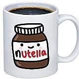 ZMvise Custom Art Cute Tumblr Nutella Ceramica Bianca Tazza Tazza Natale Perfetto Ringraziamento gfit