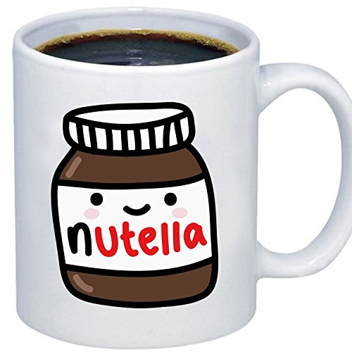 ZMvise Custom Art Cute Tumblr Nutella céramique Blanche gfit Tasse Tasse noël Parfait Thanksgiving