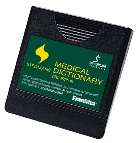 Franklin sdm-500224hsmp 2002Stedman 's Medical Wörterbuch Springboard Modul