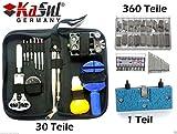 KaSul®Germany   XL Uhrenwerkzeugset   30'tlg Tools + 340 Federstege + 1 mini
