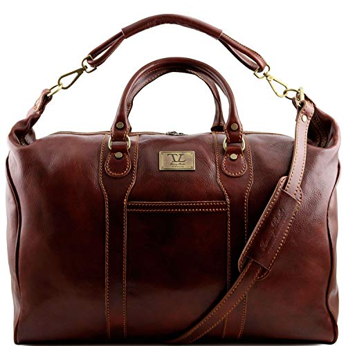 Tuscany Leather Amsterdam Sac de voyage en cuir Marron