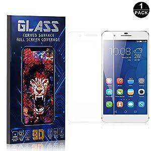 Bear Village® Huawei Mate 9 Lite Displayschutzfolie, HD Panzerglasfolie mit 3D Touch, 9H Härtegrad Schutzfilm aus Gehärtetem Glas für Huawei Mate 9 Lite, 1 Stück