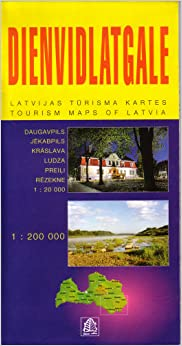 Book Dienvidlatgale: Southern Latgale (Tourism Maps of Latvia)
