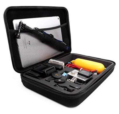 MyGadget Tragetasche [Größe L] Transport Schutz Tasche für Actionkamera & Zubehör - Portable Koffer Case für z.B. GoPro Hero 7 6 5 4 3+ 3 / Xiaomi Yi 4K - Gopro Großes Tragetasche