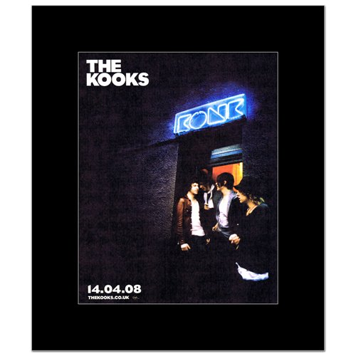 KOOKS - Album Matted Mini Poster - 30x24.2cm