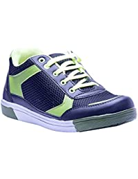 Savie Shoes Men's Black & Green Casual Sport Shoes