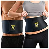 51654dUqQZL. SL160  - BEST BUY #1 Veluxio Premium Waist Trimmer Ab Belt with Lumbar Support Reviews and price compare uk