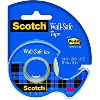 Scotch 183 Wall Safe cinta mate préserve pared 16,5 m x 19 mm)