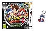 3DS Yo-Kai Watch 2: Fantasqueletos + Medalla - Edición Especial Limitada + Llavero